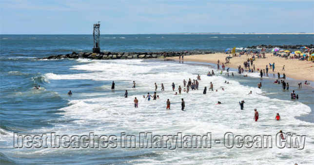 Finding Best beaches in Maryland - Ocean City
